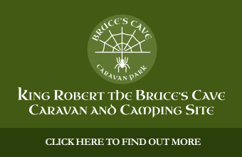 Bruces Cave Caravan and Camping south west Scotland