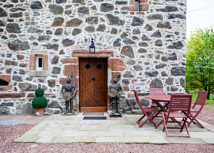 Lochhouse Tower self catering in Dumfries and Galloway