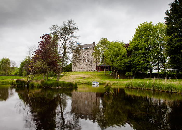 Lochhouse Tower self catering accommodation Moffat