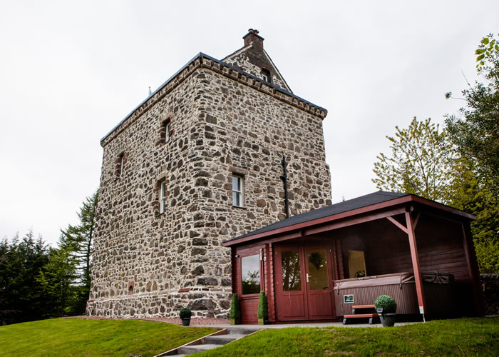 Lochhouse Tower self catering Moffat