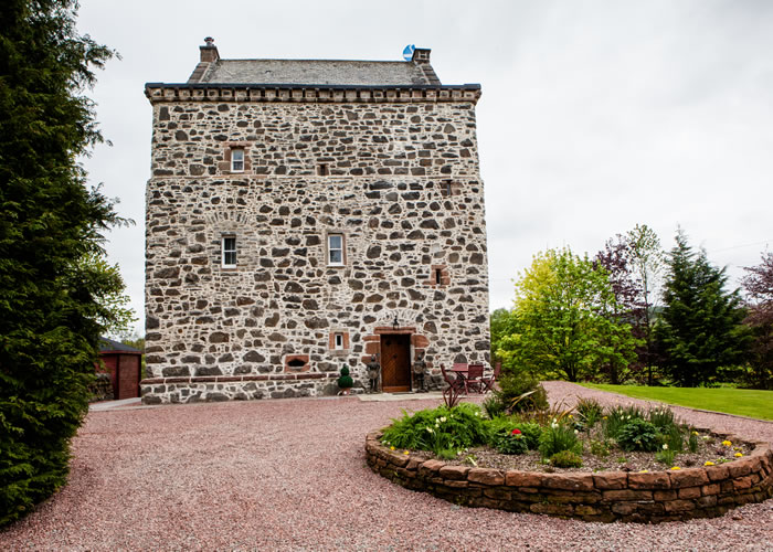Lochhouse Tower self catering accommodation Dumfries and Galloway