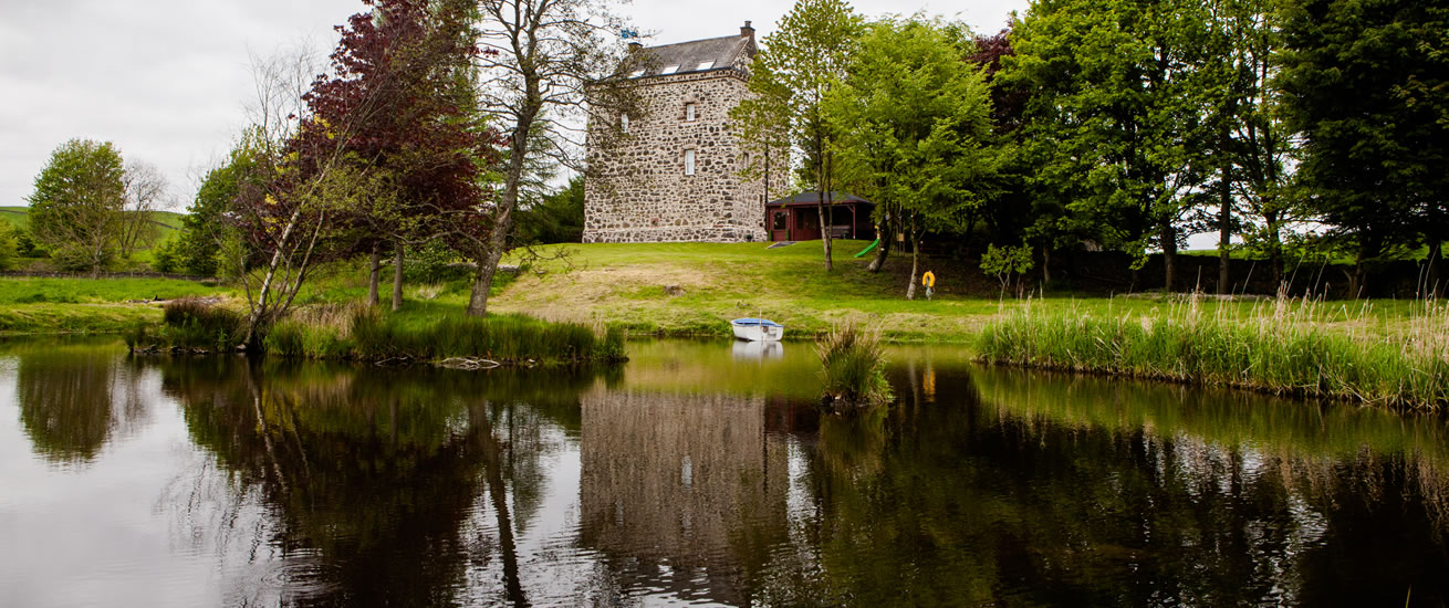 Lochhouse Tower in Moffat south west scotland