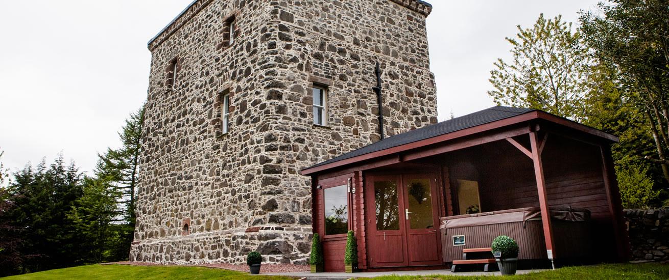 Loch House Tower Moffat south west scotland