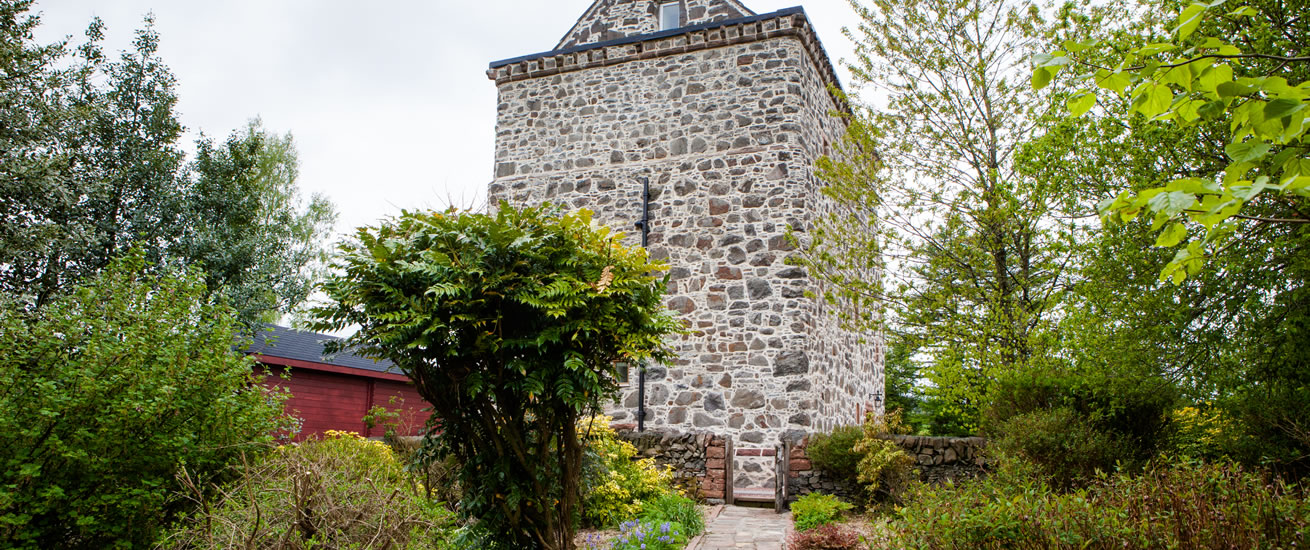 Loch House Tower in Moffat south west scotland